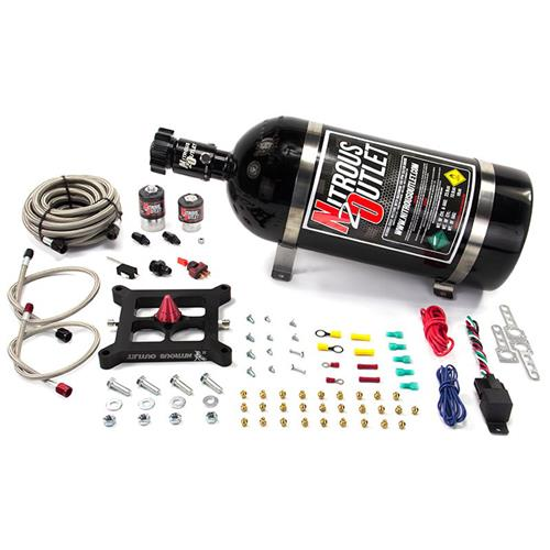 Mustang Nitrous Outlet 4150 Stinger Plate System With 10 LB Bottle (79-85)