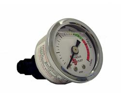 Nitrous Outlet Pressure Gauge with -4 Manifold 00-63001-4