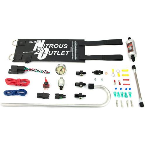 Nitrous Outlet Nitrous Kit X-Series Accessory Package (87-17)
