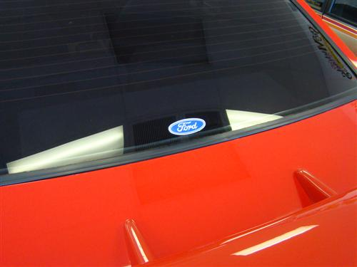 "Ford Oval Decal - 3.5""X1.5"""