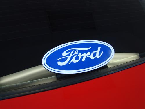 Ford Oval Decal
