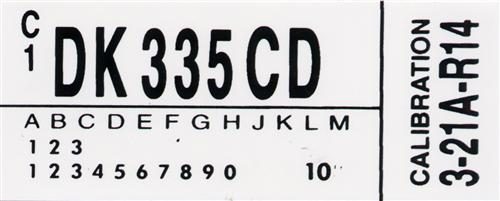 Mustang GT 5-Speed Engine Code Decal (1983)