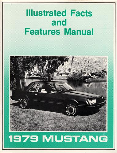 Mustang Illustrated Facts Manual (1979)