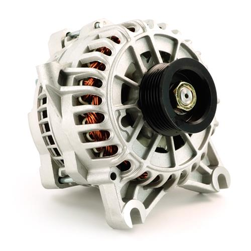 PA Performance Mustang 200 Amp Alternator Bare Aluminum (05-08) 4.6La