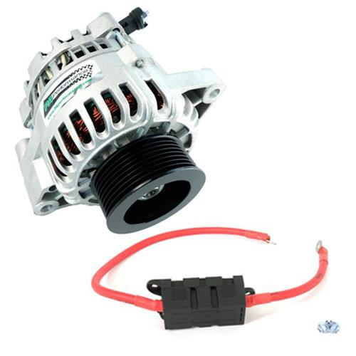 pa performance mustang 130 amp alternator power wire kit. Black Bedroom Furniture Sets. Home Design Ideas