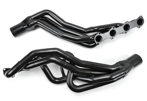 "Pacesetter Mustang Long Tube Headers, 1 5/8"" Primaries, 3"" Collectors Black (96-04) GT 4.6 2V 70-3230"