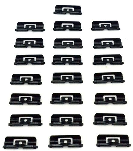 1979-93 Mustang Hatchback Rear Window Molding Clip Kit