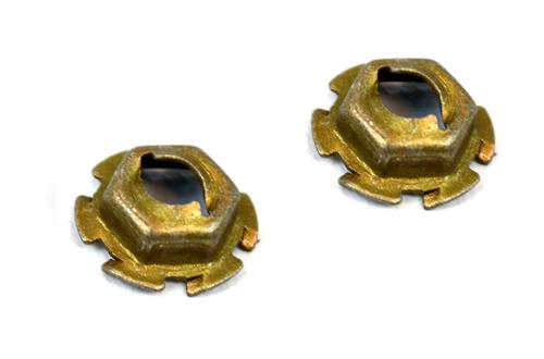 Mustang Front Attaching Nuts for Ford Oval Emblem (85-93)