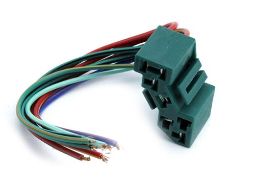 pe651_5907 mustang complete wiring harnesses lmr com Basic Turn Signal Wiring Diagram at n-0.co