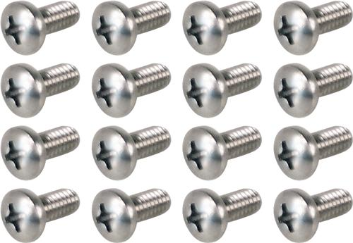 Mustang Headlight Ring Screw Set (79-86)