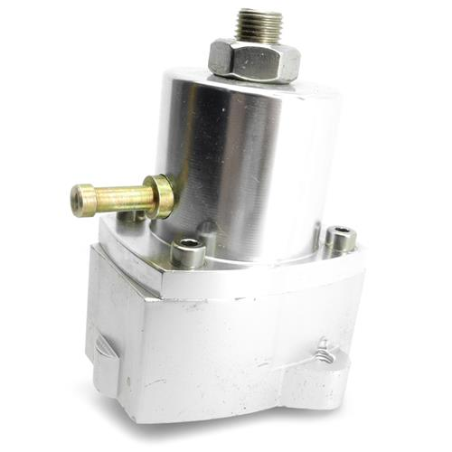 Professional Products Mustang Adjustable Fuel Pressure Regulator Silver (86-93) 5.0 - Professional Products Mustang Adjustable Fuel Pressure Regulator Silver (86-93) 5.0