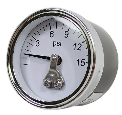 0-15 Psi Carbureted Fuel Pressure Gauge