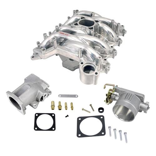 Professional Products Mustang Intake Manifold, Plenum, Throttle Body Kit Polished (99-04)