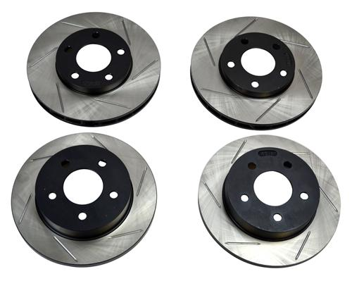 Stop Tech Mustang Rotor Kit - Slotted (94-04) GT/V6