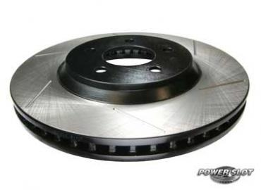 "Stop Tech Mustang Front Brake Rotors - 12.43"" - Slotted (05-14) V6/GT"