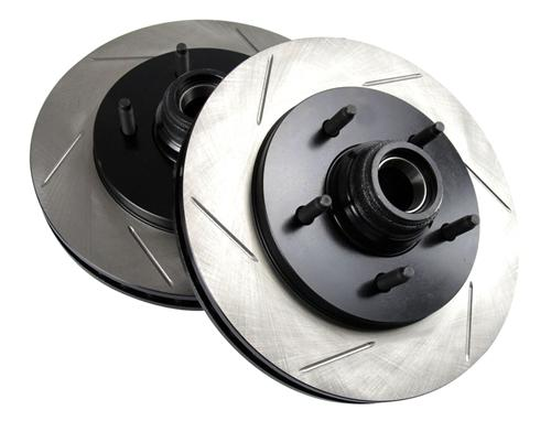 Picture of SVT Lightning Slotted Front Brake Rotors, Pair (1999)