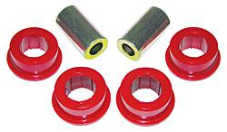 Prothane Mustang Rear Panhard Bar Bushings for Stock Bar Red (05-14) 61219