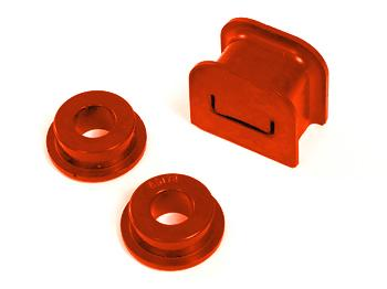 Prothane Mustang Shifter Bushing Kit (5-Speed) Red (05-09) GT 4.6L 61611
