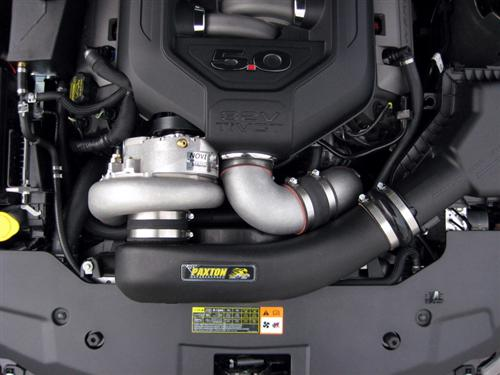 Mustang Novi 2200SL Paxton Supercharger - Satin - Intercooled - Tuner Kit (11-14)