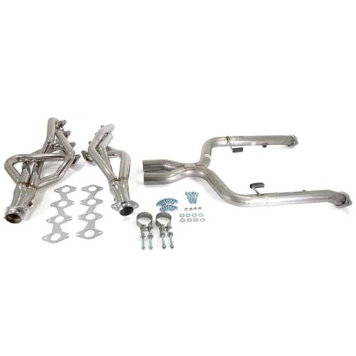 Pypes Mustang Long Tube Headers w/ Off Road X-Pipe (05-10) GT HDR55SK