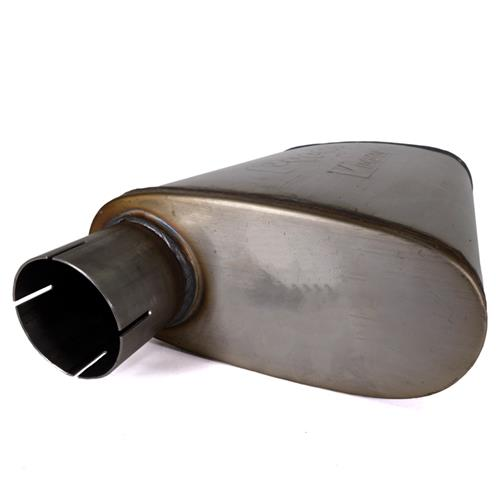 "Pypes Violator Muffler - 2.5""  Stainless MVV10"