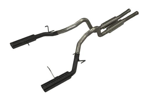Mustang Pypes Pype Bomb Catback Exhaust Kit Black (11-14)