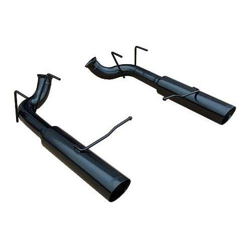 Pypes Mustang Pype Bomb Axle-Back Exhaust Black (11-14) GT-GT500 SFM76MSB