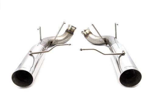 2011-2014 MUSTANG 3.7L V6 POLISHED PYPE BOMB AXLE BACK - 2011-2014 MUSTANG 3.7L V6 POLISHED PYPE BOMB AXLE BACK