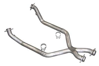 Pypes Mustang Off Road X-Pipe For Shorty Headers Stainless Steel (86-93) 5.0L XFM10