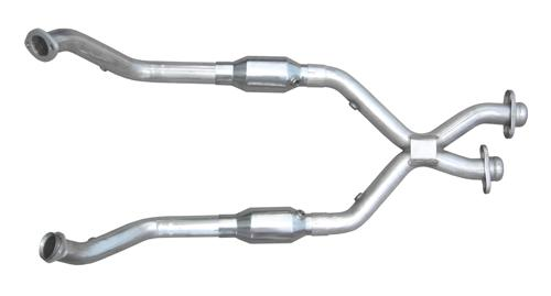 Pypes Mustang Catted X-Pipe Stainless Steel (96-98) GT XFM33