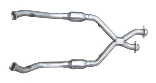 Pypes Mustang Catted X-Pipe Stainless Steel (98-04) V6 3.8 XFM39