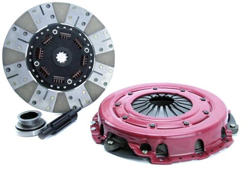 "1986-95 Mustang Ram Powergrip Clutch Kit, 10.5"" 10-Spline for 5.0L"