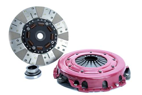 "1986-95 Mustang Ram Powergrip Hd Clutch Kit, 10.5"" 26 Spline for 5.0L"