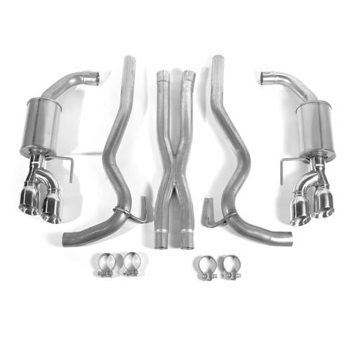 Roush Mustang Cat Back Exhaust Kit - Coupe (18-19) GT 422093