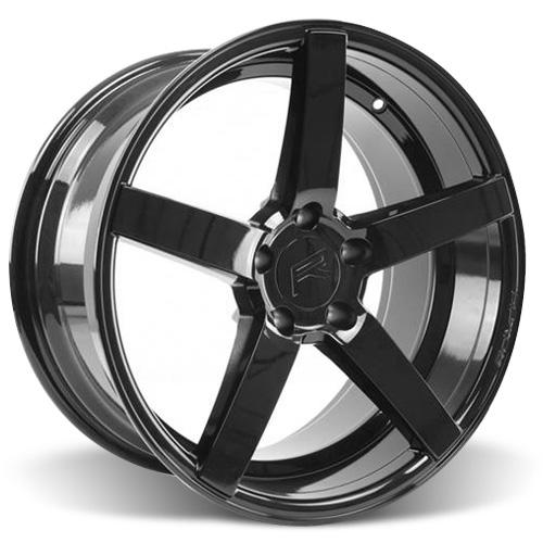 Rovos Mustang Durban Wheel - 18x9 Gloss Black (94-04) 55417GB