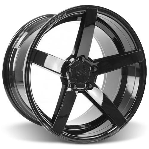 Rovos Mustang Durban Wheel - 18x10.5 Gloss Black (94-04) 55423GB