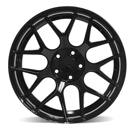 Rovos Mustang Pretoria Wheel 18X9 Gloss Black (94-04)