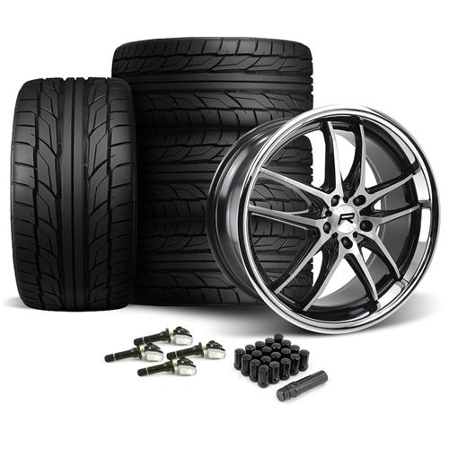 Rovos Mustang Calvinia Wheel & Tire Kit - 20x8.5/10  - NT555 G2 (15-17)