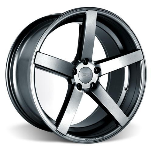 Rovos Mustang Durban Wheel & Tire Kit - 20x8.5/10 Satin Gunmetal (15-16) Nitto NT05
