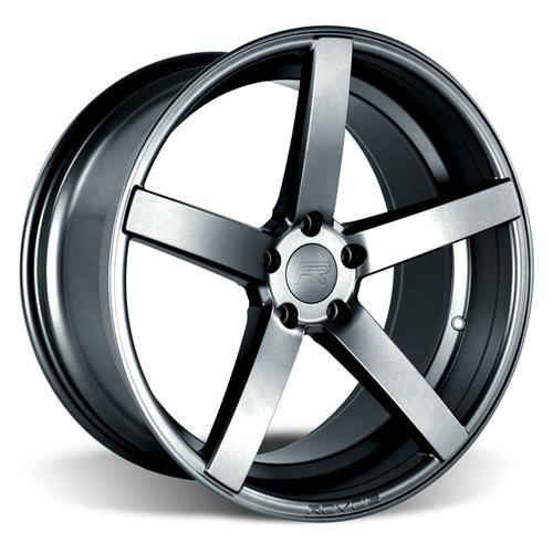 Rovos Mustang Durban Wheel & Tire Kit - 20x8.5/10 Satin Gunmetal (05-14) Ohtsu