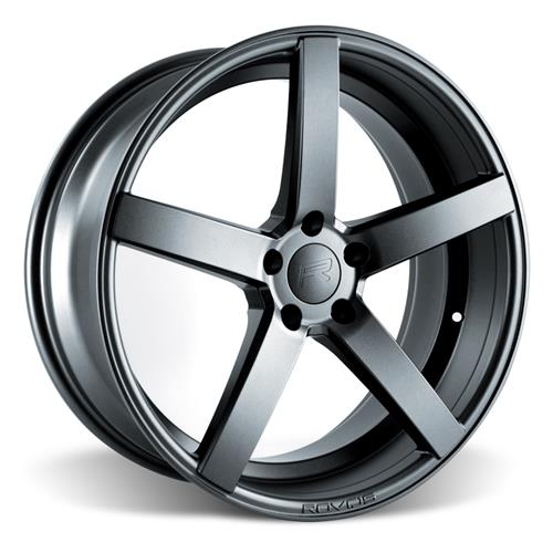 Rovos Mustang Durban Wheel & Tire Kit - 20x8.5/10 Satin Gunmetal (05-14) Nitto Invo - Rovos Mustang Durban Wheel & Tire Kit - 20x8.5/10 Satin Gunmetal (05-14) Nitto Invo