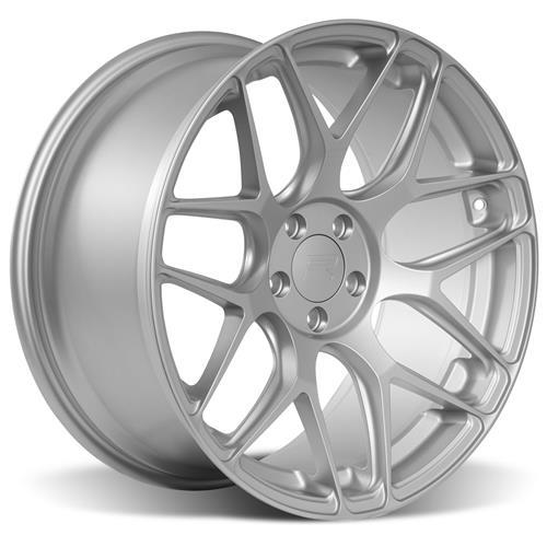 Rovos Mustang Pretoria Wheel & Tire Kit 20x8.5/10  - Satin Silver - Invo Tires (15-16)