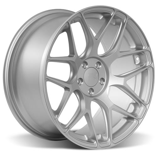 Rovos Mustang Pretoria Wheel & Tire Kit 20x8.5/10  - Satin Silver - 295 Invo Tires (05-14)