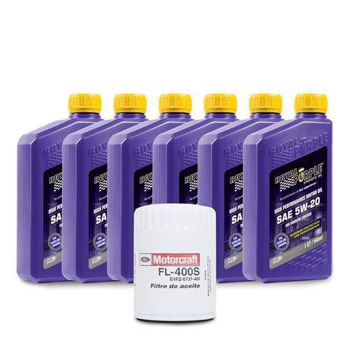 Royal Purple Mustang 5W-20 Oil Change Kit (01-09) V6 3.8/4.0