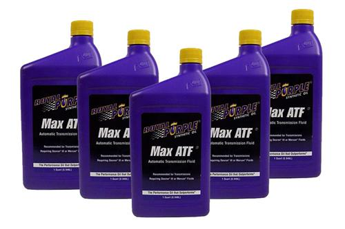 79-14 Mustang Royal Purple Max ATF Oil, 5 Quarts Enough to drain the pan and replace the filter