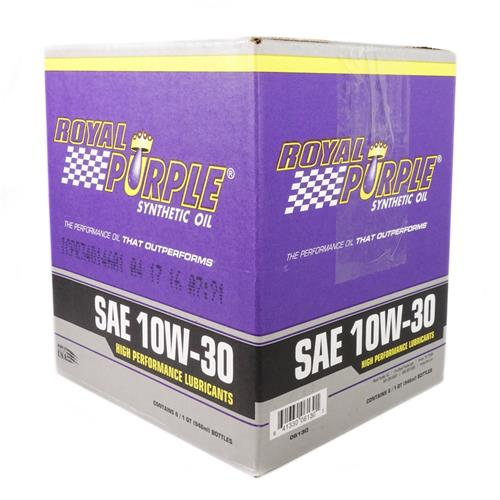 Royal Purple 10w30 Synthetic Engine Oil - Case (6 qts)