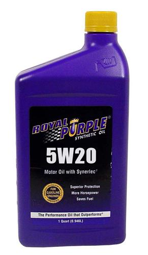 Royal Purple Synthetic Engine Oil 5w20