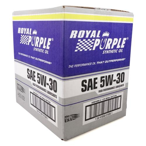 Royal Purple 5w30 Synthetic Engine Oil - Case (6 qts) 01530