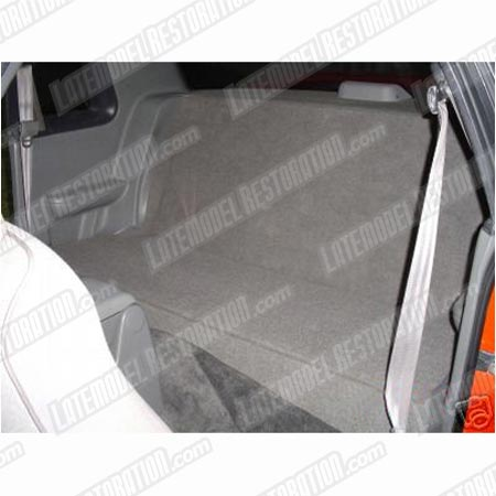 Fox Body Mustang Rear Seat Delete Gray 7993 Coupe