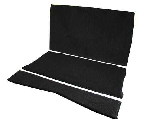 Mustang Rear Seat Delete Black (83-93) Convertible